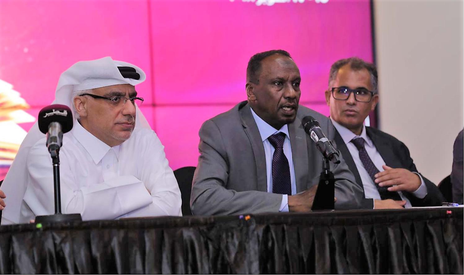 المؤتمر الصحفي للفائزين ضمن جائزة كتارا للرواية العربية الدورة الرابعة 2018