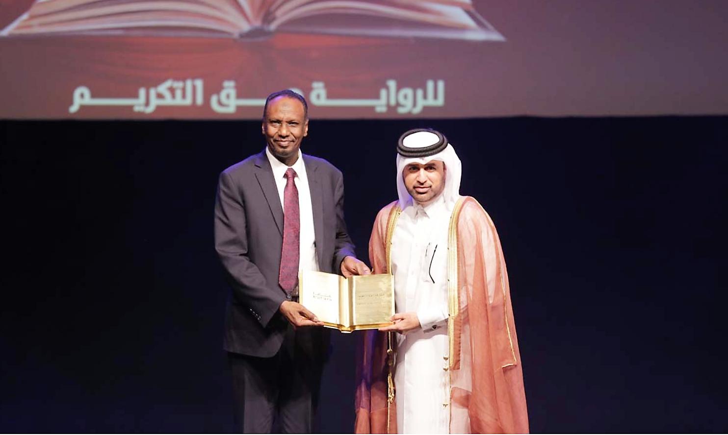 عمر فضل الله يفوز بجائزة كتارا للرواية العربية 2018 برواية أنفاس صليحة عن فئة الروايات المنشورة