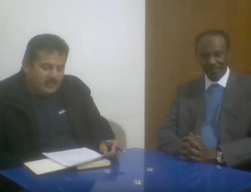 لقاء الروائي خالد بدوي مع الروائي الدكتور عمر فضل الله والغوص فى مشروع الرواية المعرفية